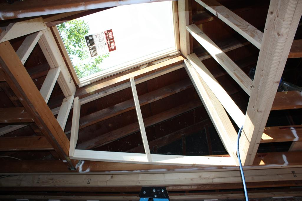 image gallery skylight framing