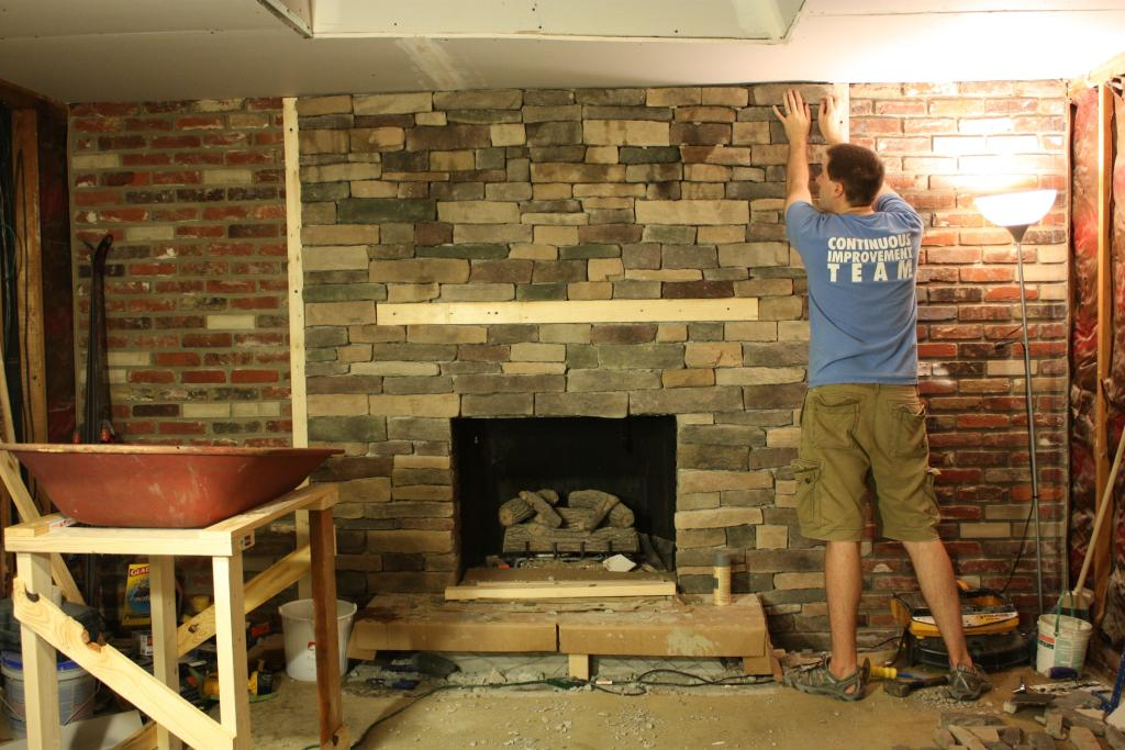 with stone veneer corner fireplace decorations images the stone veneer - Fireplace With Stone Veneer
