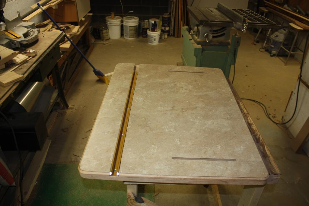 how to build a router table top